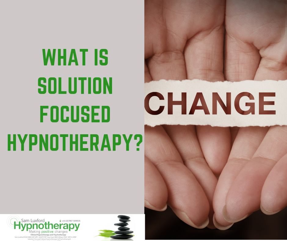 What Is Solution Focused Hypnotherapy?